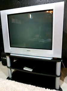 """Sony Wega 32"""" TV with remote and TV stand"""