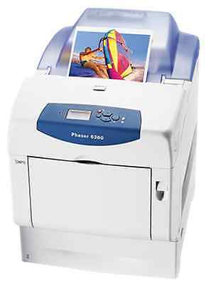 IMPRIMANTES LASER COULEUR  XEROX PHASER 6360 - LOT DE 4