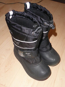 Warm winter boots, kids size 12, good condition