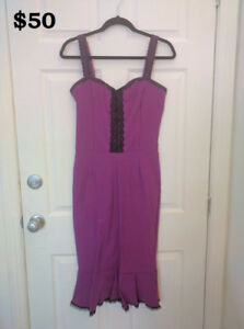 Women's dresses. Size Large. Prices Vary.