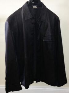 Men's Sheepskin Leather Jacket 100$ OBO- Size M-L Issey Miyake
