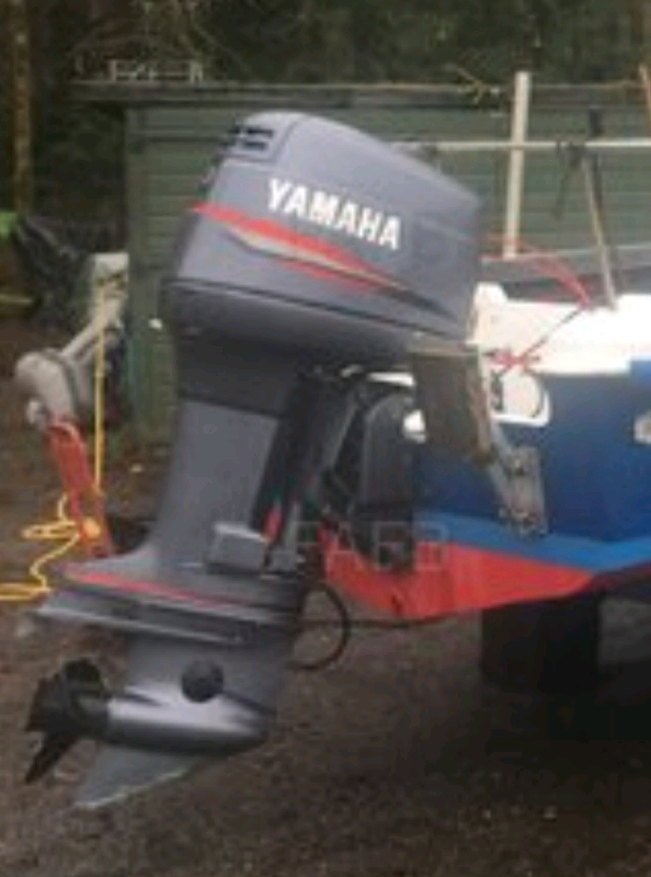 Yamaha 150hp V6 Two Stroke XL outboard | in Dunoon, Argyll and Bute |  Gumtree