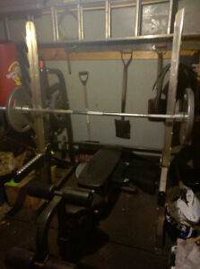 Bench Press and Accessories