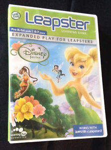Leap Frog Leapster and Leapster 2 disney Tinkerbell game London Ontario image 1