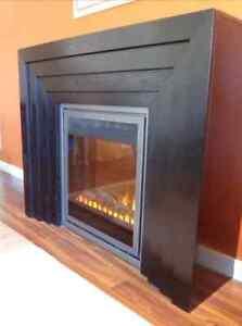 Torino electric fireplace
