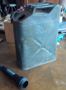 US (Army/Marine?) CONCO Large Jerry Can, Gas Can