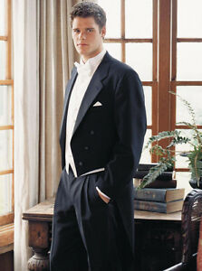 TAILCOATS AND BLACK TUXEDO'S