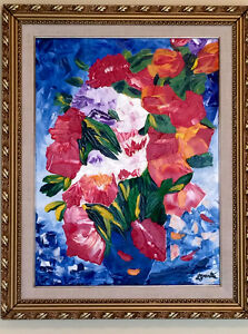"Original oil painting 16"" x 20"" plus frame"