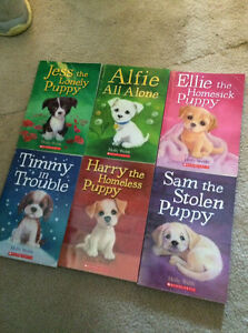 Children's books about puppies