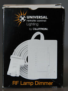Universal Remote RF Lamp Dimmer - Black
