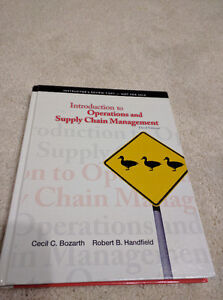 Introductions to Operations and Supply Chain Management