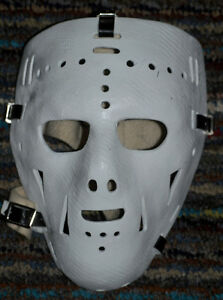 masque Ed Giacomin fiberglass goalie mask replica réplique