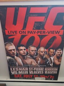 George St. Pierre Poster Board **