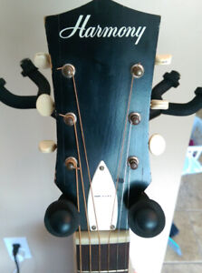 !970 's Harmony  H 162 acoustic guitar