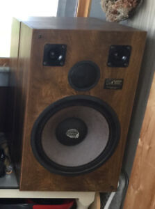 Pair of Audiosphere Research 120 watt stereo speakers