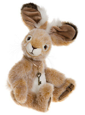 Roscoe collectable plush bunny hare rabbit by Charlie Bears - CB165107
