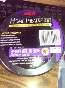 RCA  Home Theatre HP Speaker wire NIB