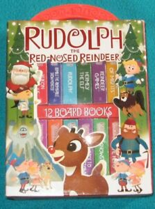 Rudolph a Red nosed  reindeer 12 mini Board books