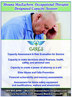 Capacity Assessment & Risk Evaluation for Seniors
