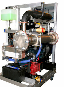 micro-CHP (Heat and Power) machine