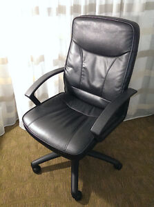 PRICE REDUCED Looking to sell faux leather desk chairs