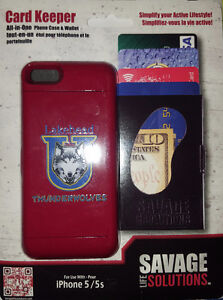 iPhone 5 Thunderwolves Card Keeper Case