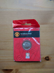 Manchester United Collectors Coin
