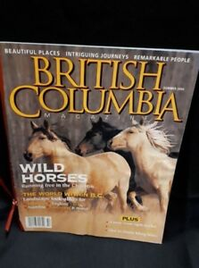 Summer 2004 British Columbia Magazine