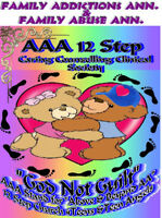 AAA 12Steps needs Space for Family Addictions&Abuse Ann.