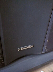 "Hitachi UltraVision 55"" Rear-Projection Television"
