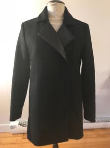 Manteau laine cuir m0851 style mackage / Très bon état