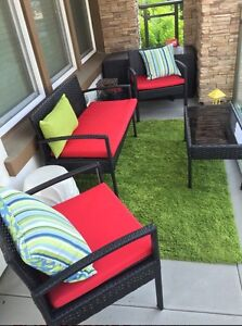4 piece patio set
