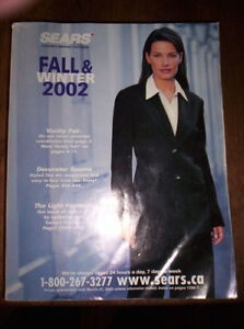 2002 SEARS FALL AND WINTER CATALOG