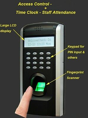 Standalone Reader Biometric Fingerprint Keypad Door Access Control