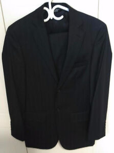 VERY CLASSIE MENS PRONTO UOMO COUTURE BLACK SUIT