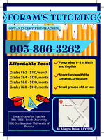 Affordable Tutoring Services in Brampton