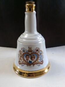 Prince Charles Lady Diana Commemorative Decanter