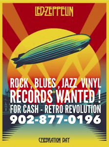 Retro Revolution Records ☆ Wanted VInyl Record Collections !