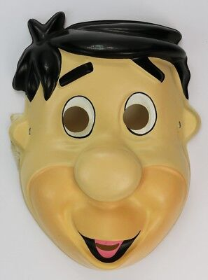 Vintage Fred Flintstone Halloween Mask The Flintstones Hanna Barbera 1992