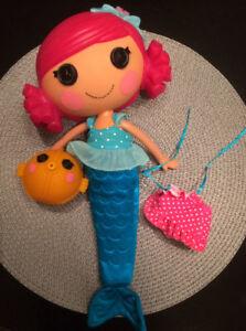 LalaLoopsie Mermaid with Fish