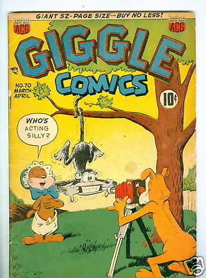 Giggle #70 March 1950 VG-