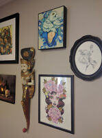 Room available for tattoo artist or permanent makeup.