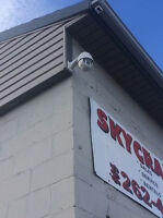 Security Cameras - Clean and Professional Installations!   Recei