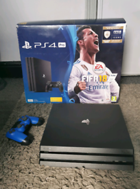 Ps4 pro 1.5tb. Excellent condition. Boxed with controller