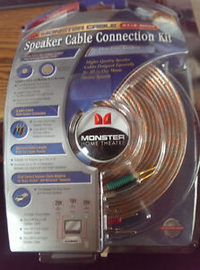 Monster Cable Speaker cable Connection Kit