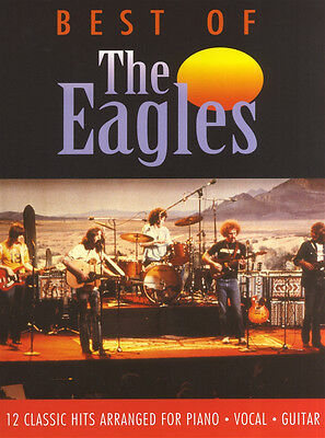 Best Of The Eagles Piano Vocal Guitar PVG Sheet Music Book Learn Greatest Hits