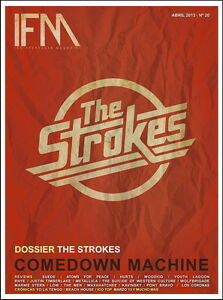 MX04945 The Strokes - American Julian Casablancas Indie Rock 24