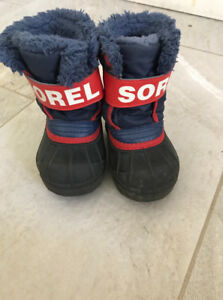 Toddler Boys Sorel Boots Size 5