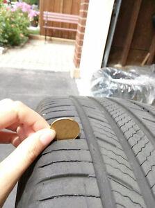 Michelin Premier All Season Tire in good cond London Ontario image 4