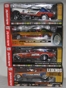 Drag Racing Die-Cast 1/18th & 1/24th